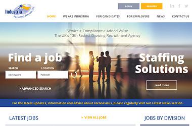Recruitment Agency Website Design.